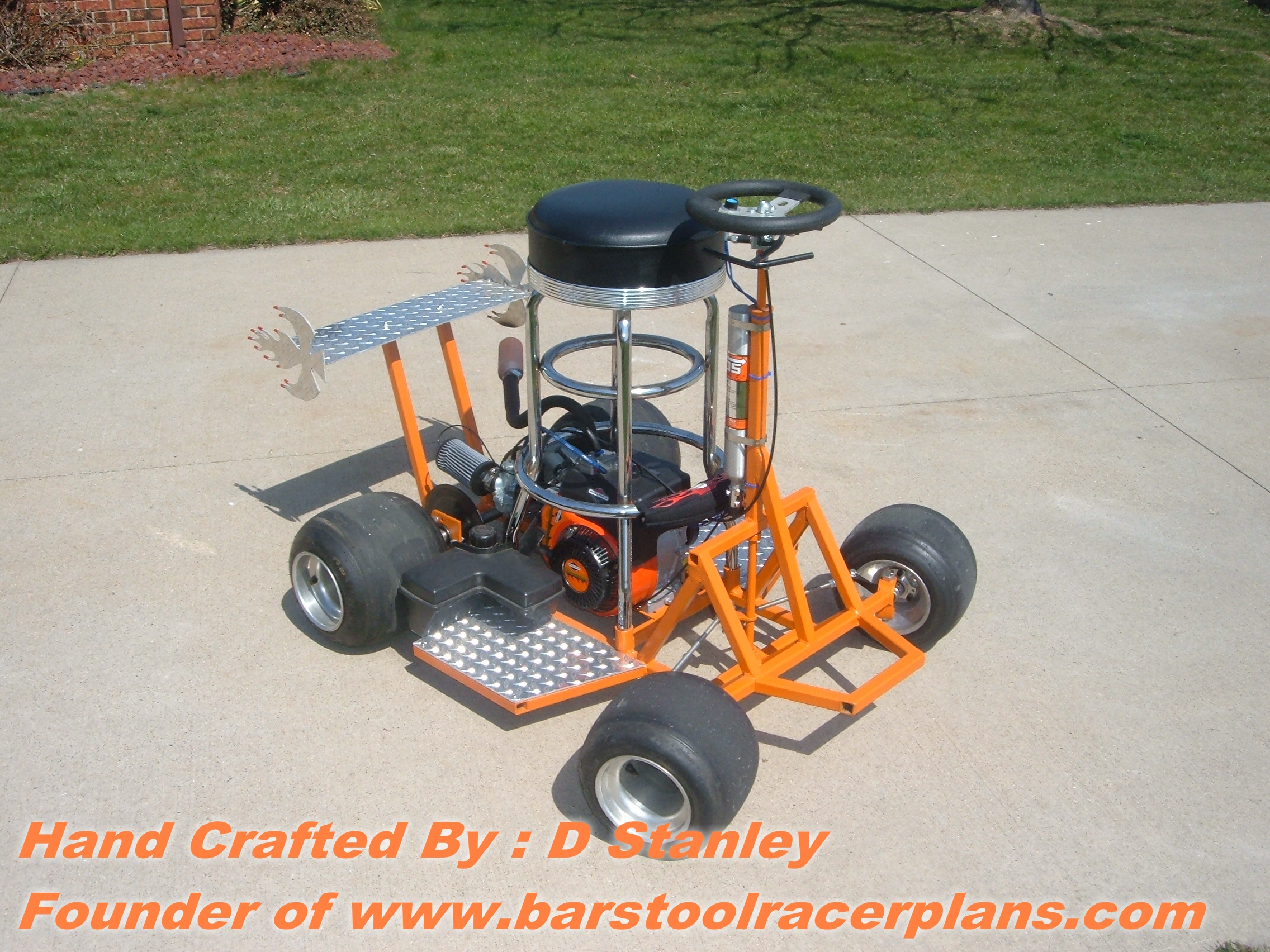 Awe Inspiring Easy To Bar Stool Racer Plans Build My Blog Gmtry Best Dining Table And Chair Ideas Images Gmtryco
